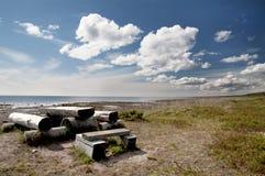 Белое море Стоковое Фото