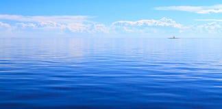Белое море Стоковая Фотография