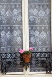 Белое окно стоковая фотография rf