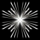 Белое пламя Стоковое Изображение RF