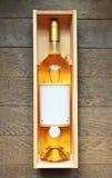 Белое французское вино Стоковая Фотография RF