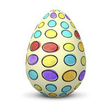 Белое яичко Стоковые Изображения