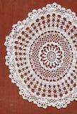 Белое doilie Стоковое Изображение RF
