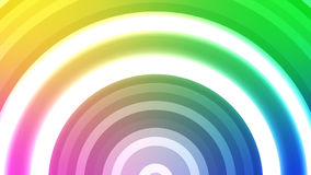 Белое Soundwaves расширяя над Multi покрашенной предпосылкой иллюстрация штока