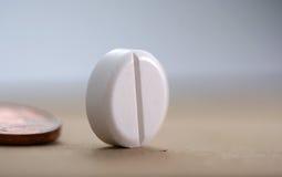 Белое tablette Стоковое Изображение