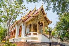 Белое Vihara в Wat Jed Yod Стоковое фото RF