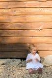 белокурая девушка немногая Стоковое фото RF