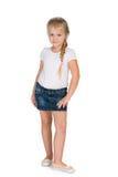белокурая девушка немногая Стоковая Фотография RF