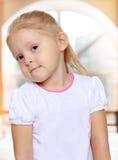белокурая девушка немногая Стоковые Фотографии RF