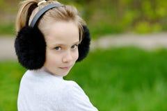 Белокурая девушка Стоковое фото RF