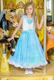Белокурая маленькая девочка стоковые фото