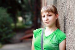 Белокурый девочка-подросток стоковые фото