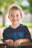 белокурый мальчик милый Стоковые Фото