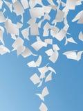 Белые бумаги Стоковые Изображения