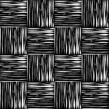 Белые геометрические формы на черной предпосылке Стоковые Фотографии RF
