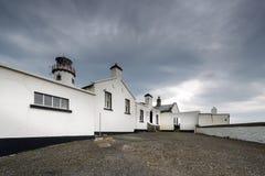 Белые Дома в северной Ирландии Стоковая Фотография