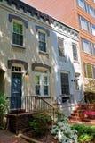 Белые Дома в улицах DC Вашингтона Стоковые Изображения
