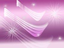 Белые и фиолетовые крыла Стоковые Фото