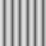 Белые и черные вертикальные нашивки Бесконечное безшовное Стоковое Фото
