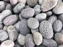 Белые камешки с похожей на Гранит текстурой Стоковые Изображения RF
