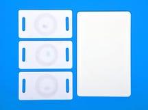 Белые карточки RFID Стоковая Фотография