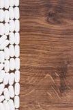 Белые медицинские пилюльки и капсулы, концепция здравоохранения, космос экземпляра для текста Стоковое фото RF