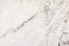 Белые мраморные предпосылка и текстура Стоковое Изображение RF