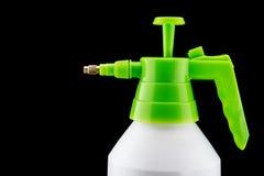 Белые насос и бутылка брызга стоковое изображение rf