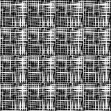 Белые нашивки на черной предпосылке Стоковое фото RF