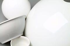 Белые объекты Стоковые Изображения
