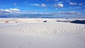 Белые пески, Неш-Мексико стоковое изображение rf