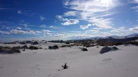 Белые пески, Неш-Мексико стоковое изображение