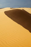 Белые песчанные дюны в Ne Mui, Вьетнам Стоковое Изображение