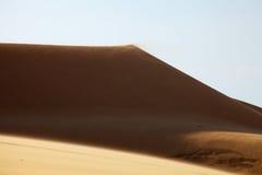 Белые песчанные дюны в Ne Mui, Вьетнам Стоковая Фотография