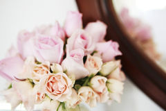 Белые розы Bouque Стоковое фото RF