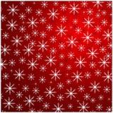 Белые снежинки зимы для holida рождества и Новогодней ночи Стоковое Фото