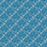 Белые формы на голубой предпосылке Стоковая Фотография