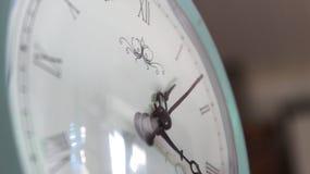 Белые часы Стоковое фото RF