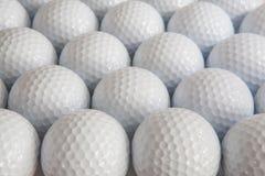 Белые шары для игры в гольф стоковая фотография rf