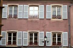 белые штарки окна стоковое фото rf