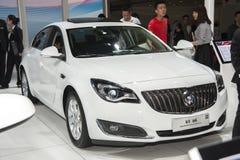 Белый автомобиль Buick Regal gs Стоковые Изображения RF