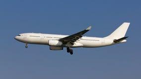 Белый без названия самолет Стоковые Изображения RF