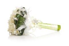Белый букет венчания Стоковое Изображение RF