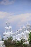 Белый Будда Стоковые Изображения RF