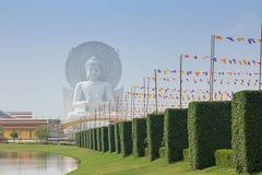 Белый Будда Стоковые Фотографии RF