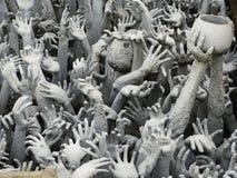 Белый висок, Чиангмай, Таиланд Стоковые Фото