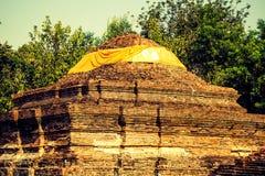 Белый висок Stupa Стоковые Фотографии RF