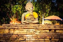 Белый висок Stupa Стоковое Фото