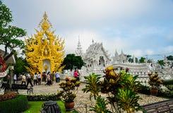 Белый висок Wat Rong Khun Стоковые Фото