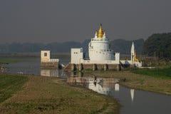 Белый дворец стоковые изображения